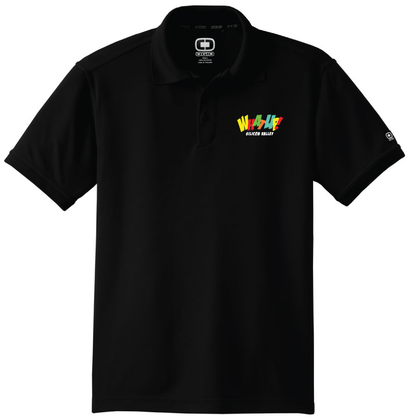 customized branded polo shirt