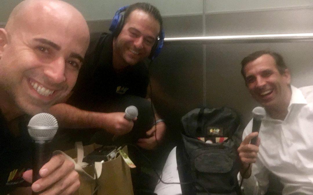 #85: Stuck in an Elevator w/ May Sam Liccardo of San Jose!